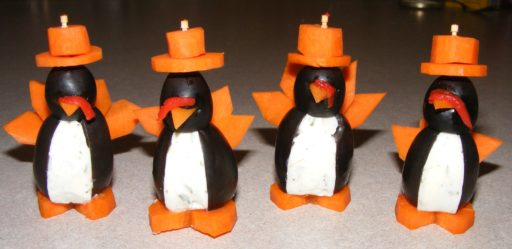 Thanksgiving Party Penguins