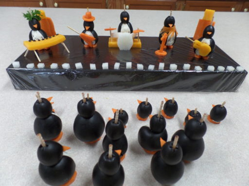 Rock Star Penguin Band