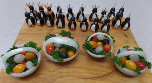 Penguin Easter Baskets