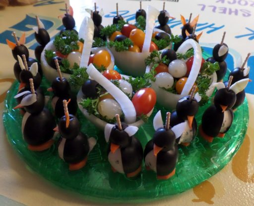 Easter Penguins on Display