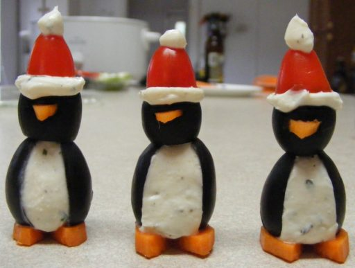 Christmas Party Penguins