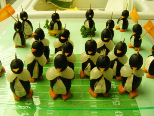 Super Bowl Party Penguins
